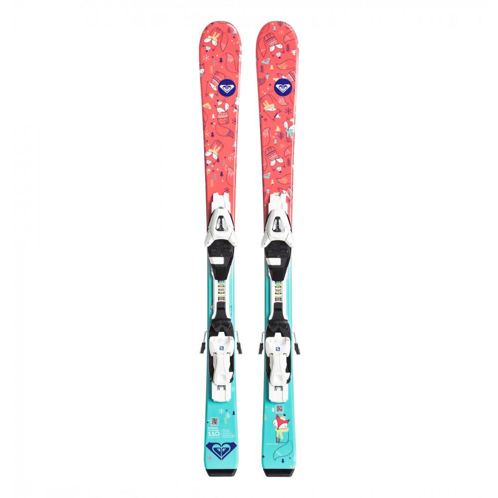 キッズ用ビンディング付スキー板 BONBON C5 (70cm-90cm)