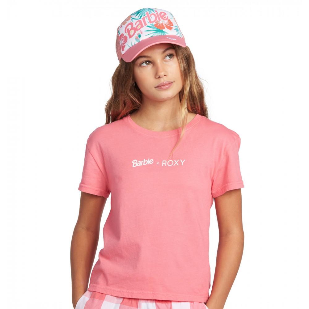 【ROXY x Barbie】 キャップ B OCEAN TOWN GIRL