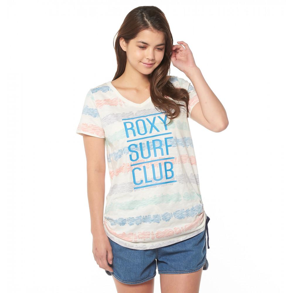 ロング丈裾シャーリングTシャツ