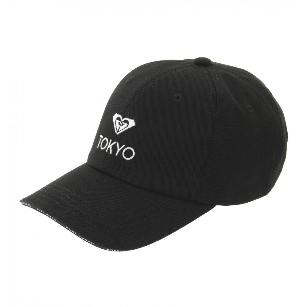 【OUTLET】6パネル キャップ ROXY LOGO CA