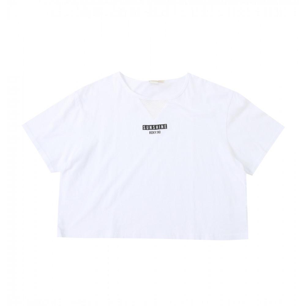 ショート丈ワイドTシャツ