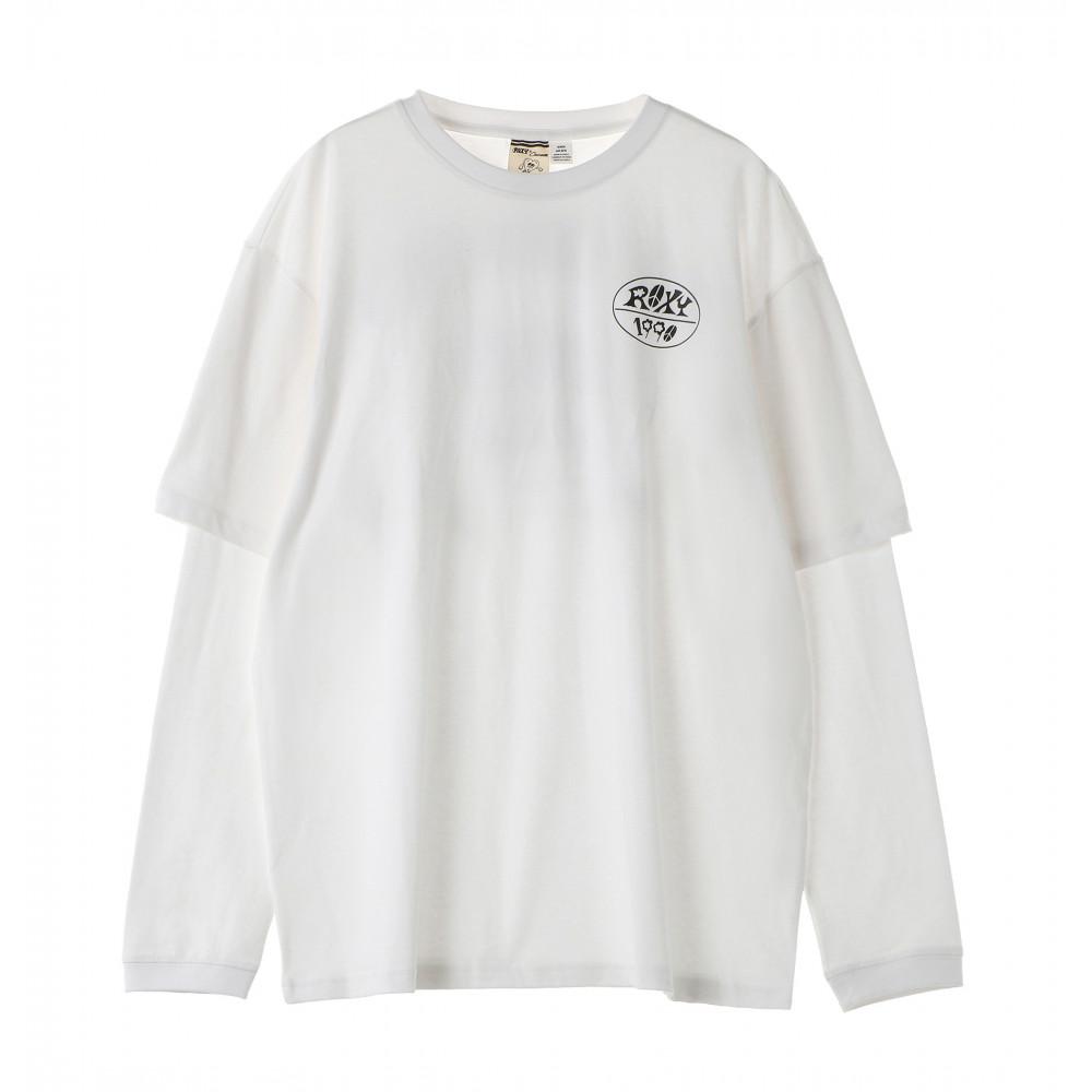 【ROXY x Chocomoo】CHOCOMOO DESIGN LONGSLEEVE TEE 長袖 Tシャツ