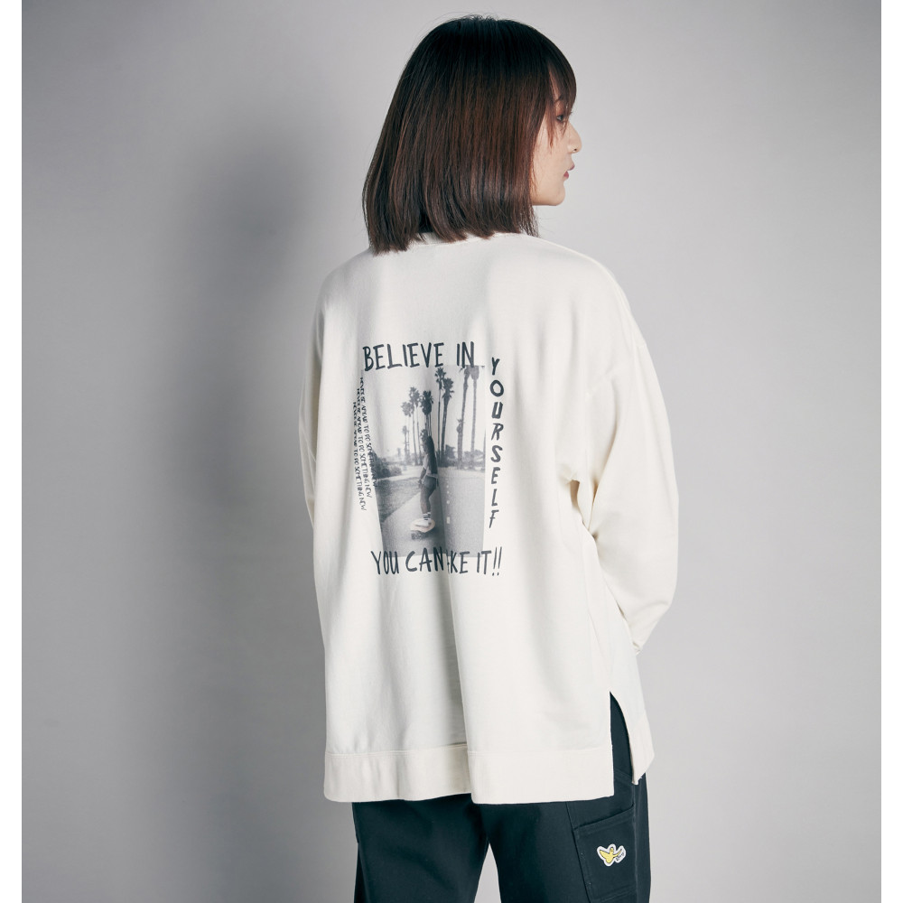 GRAPHIC PULLOVER スウェット トップ STATE