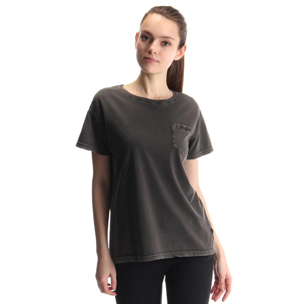 ブリーチ加工ポケットTシャツ