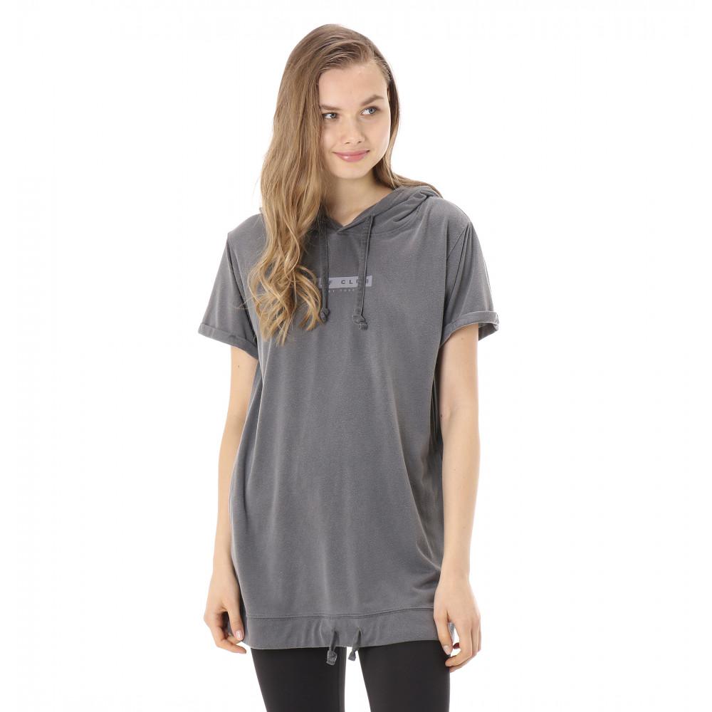 フード付き ロング丈 Tシャツ AFTER THE RAIN