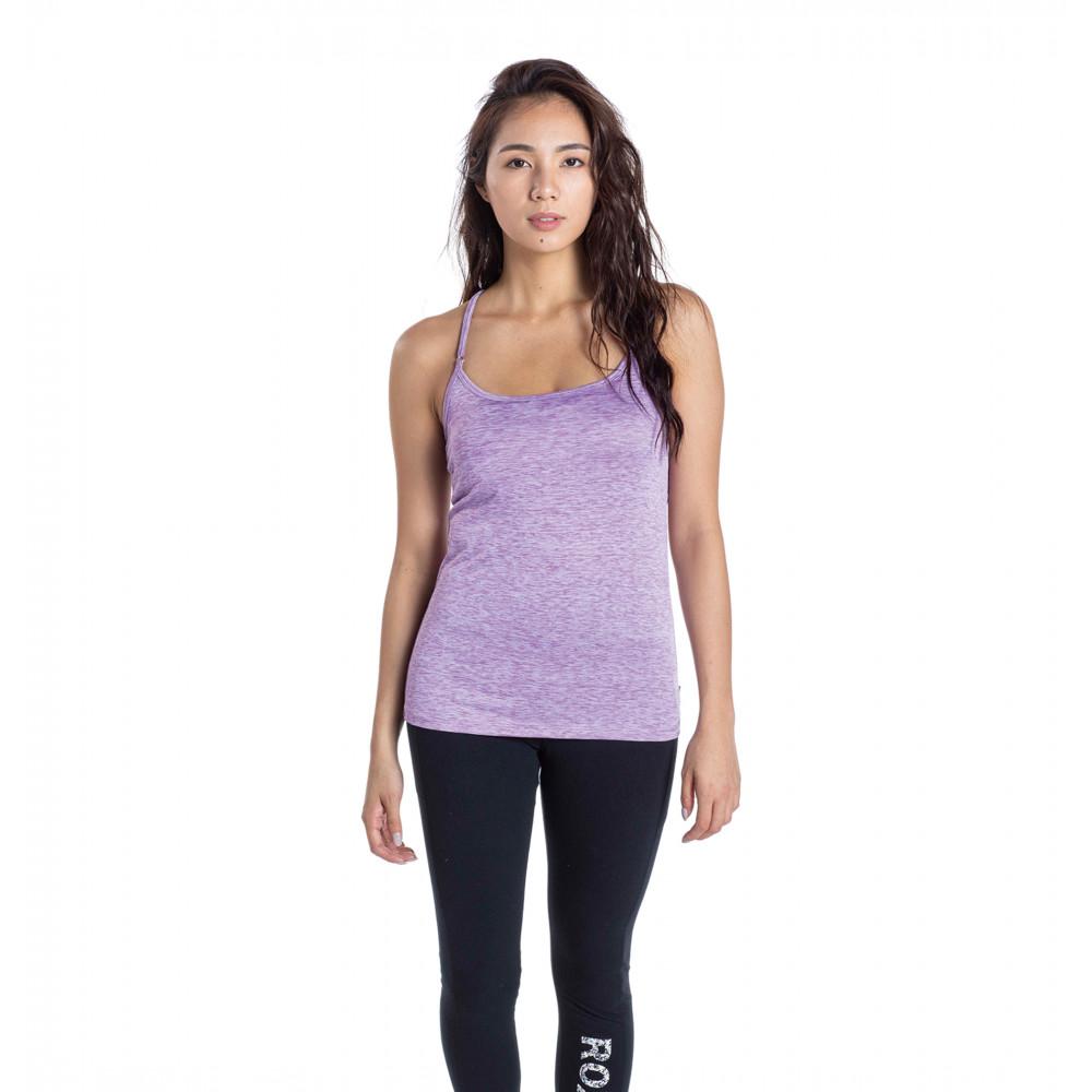 速乾 UVカット Tシャツ & カップ付きキャミ セット MOTIVATE YOURSELF