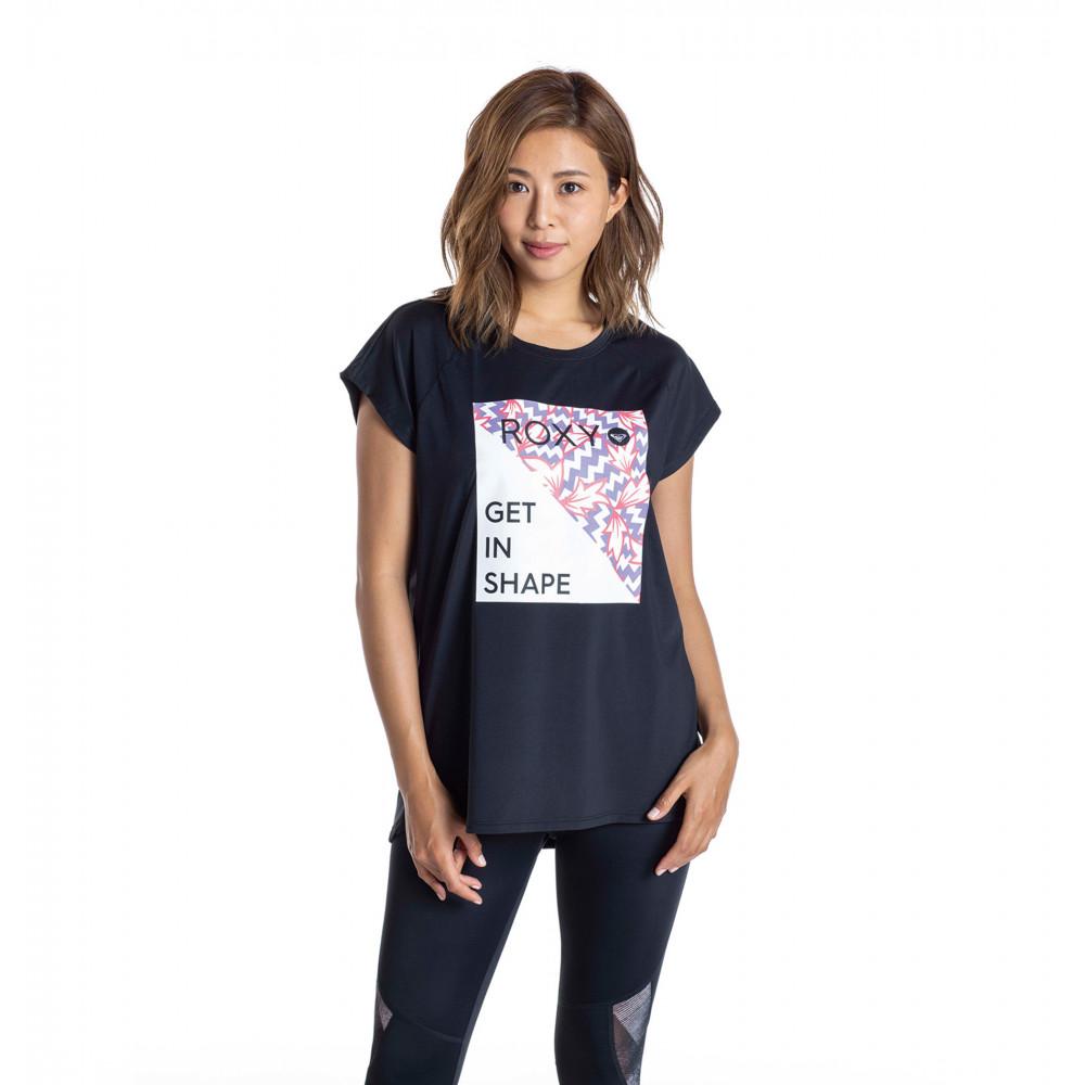 【ROXY x ELEY KISHIMOTO】 水陸両用 速乾 UVカット Tシャツ