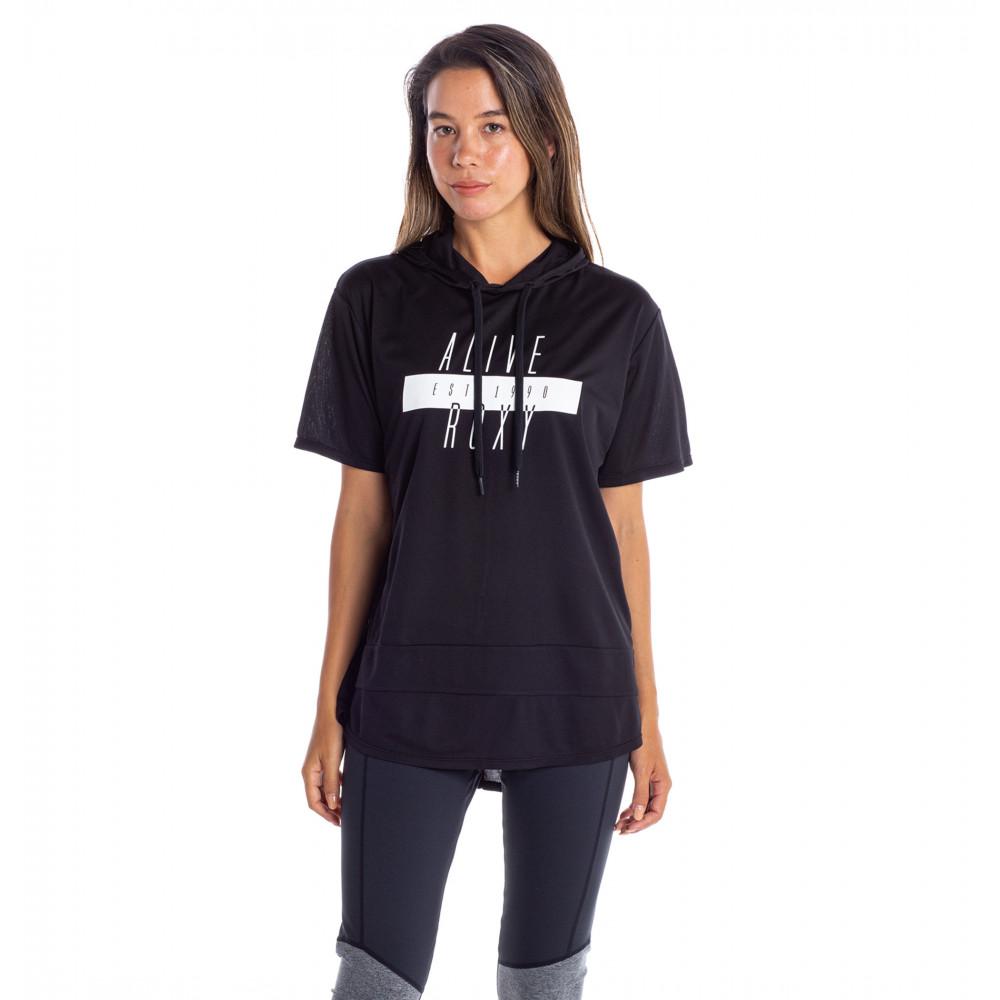 LOOK AROUND YOU 速乾 UVカット フード付き Tシャツ