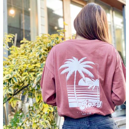 SURF CLUB L/S ルーズフィット 長袖 Tシャツ