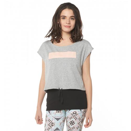UVカット & 速乾ブラカップ付きキャミ&Tシャツ MAKE AND MOVE SET TEE