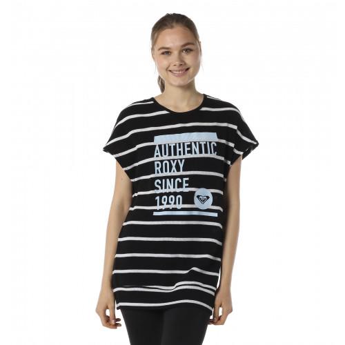 速乾 UVカット ワッフル Tシャツ AUTHENTIC ROXY