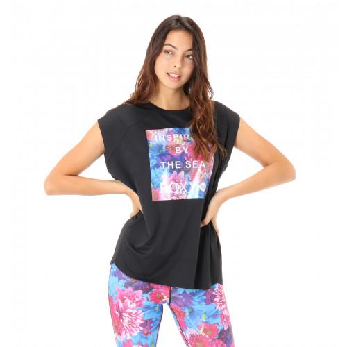 M / mika ninagawa SHORT SLEEVE 水陸両用 UVカット ラウンドテール Tシャツ