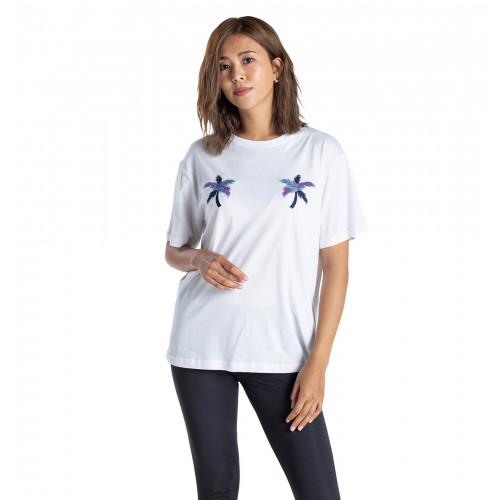 【OUTLET】Tシャツ 半袖 PALM  EMB