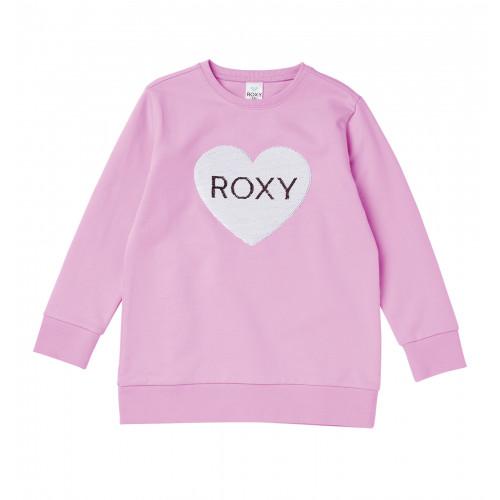 MINI ROXY  HEART キッズ Tシャツ  (100-150cm)