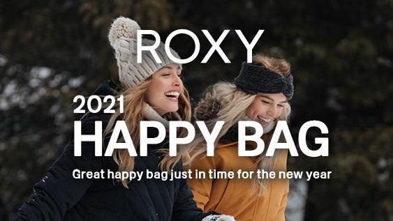 【終了しました。】【福袋 2021】ROXY HAPPY BAGを予約販売開始